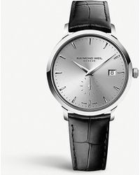 Raymond Weil - 5484-stc-65001 Toccata Stainless Steel And Leather Watch - For Men - Lyst