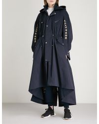 Angel Chen - Embroidered Shell Coat - Lyst