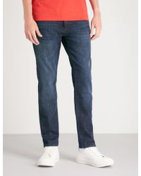 BOSS Orange Slim-fit Tapered Jeans - Blue