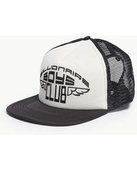 5bd4b1f146e Trapstar Decode Logo Mesh Cap in Black for Men - Lyst