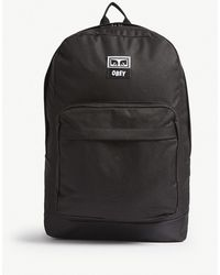 Obey - Black Drop Out Juvee Backpack - Lyst