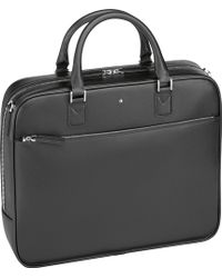 Montblanc - Sartorial Small Leather Document Case - Lyst