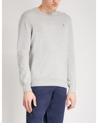 Polo Ralph Lauren - Logo-embroidered Slim-fit Knitted Jumper - Lyst
