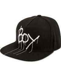 BOY London - Drip Logo Snapback - Lyst