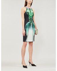 Mary Katrantzou - Ialic Printed Stretch-crepe Dress - Lyst
