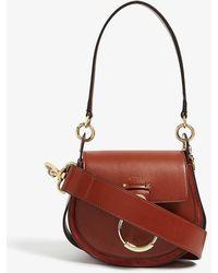 Chloé Tess Cross-body Bag - Brown