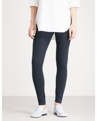 The White Company - Luxury Stretch-jersey Leggings - Lyst