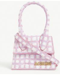 Jacquemus Le Chiquito Mini Leather Top Handle Bag - Pink
