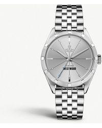 Vivienne Westwood - Vv192slsl Stainless Steel Watch - Lyst