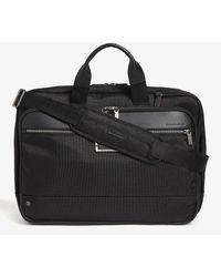 Briggs & Riley Large Expandable Ballistic Nylon Briefcase - Black