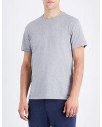 Ralph Lauren Purple Label - Crewneck Cotton-jersey T-shirt - Lyst