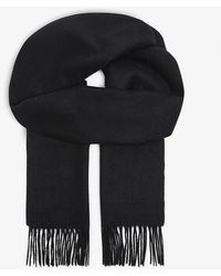 Mulberry Cashmere Scarf - Black