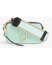Marc Jacobs Snapshot Leather Cross-body Bag - Green