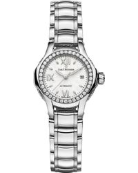 Carl F. Bucherer - 00.10551.08.25.31 Pathos Queen Stainless Steel Diamond And Sapphire Crystal Watch - Lyst