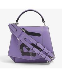 Byredo Blueprint Mini Leather Cross-body Bag - Purple