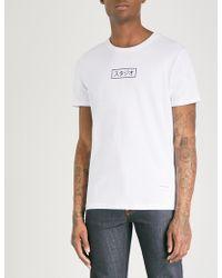 MKI Miyuki-Zoku - Printed Cotton-jersey T-shirt - Lyst