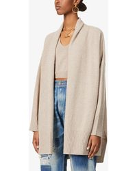 FRAME Relaxed-fit Cashmere Cardigan - Natural