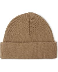 Sandro - Knitted Ribbed Beanie - Lyst