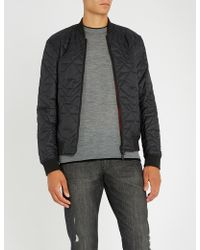Emporio Armani - Eagle Quilted Shell Jacket - Lyst