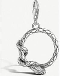 Thomas Sabo Snake Sterling Silver Charm - Metallic