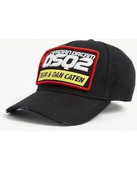 DSquared² Patch Cargo Baseball Cap - Black