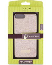 Ted Baker Rico Glitter Iphone 7 Plus Clip Case - Multicolour