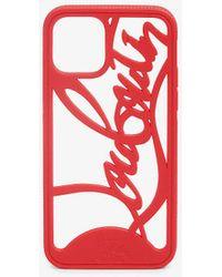 Christian Louboutin Logo Phone Case Iphone 11 Pro - Multicolour