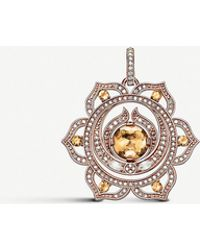 Thomas Sabo Splenic Chakra 18ct Rose Gold - Orange