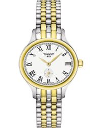 Tissot - T103.110.22.033.00 Bella Ora Piccola Gold-plated And Stainless Steel Watch - Lyst