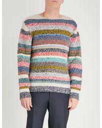 Burberry - Striped Wool Jumper - Lyst
