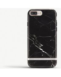 RICHMOND AND FINCH - Iphone Black Marble Case - Lyst