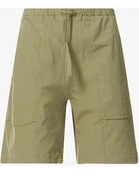 Snow Peak Quick-dry Shell Shorts - Green