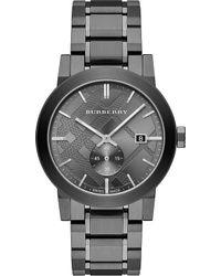 Burberry - Bu9902 Stainless Steel Watch - Lyst