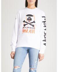 Aape | X Steve Aoki Cotton-blend Sweatshirt | Lyst