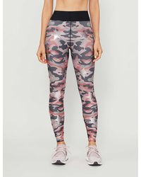 Ultracor Camouflage And Star-print High-rise Stretch-woven leggings - Multicolour