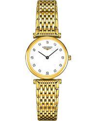 Longines L42092878 La Grande Classique Yellow Gold Plate Bracelet Watch