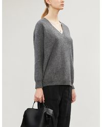 James Perse Oversized Cashmere Sweater - Gray