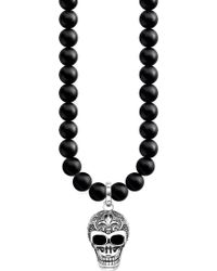 Thomas Sabo - Rebel At Heart Skull Sterling Silver - Lyst