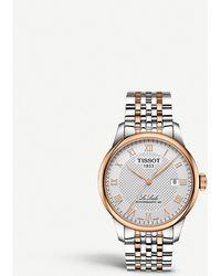 Tissot T006.407.22.033.00 Le Locle Powermatic 80 Stainless Steel Watch - Metallic