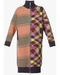 Palm Angels X Missoni Patterned Wool-blend Cardigan - Multicolour