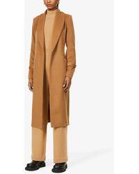PAIGE Greylin Shawl-collar Wool-blend Coat - Multicolour