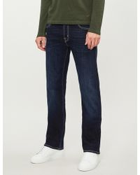 Jacob Cohen - Faded Tailored-fit Straight Jeans - Lyst