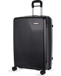 Briggs & Riley Sympatico Four-wheel Large Expandable Suitcase 76cm - Black