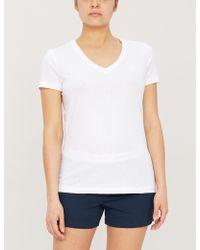 Ralph Lauren Branded Cotton Pyjama Boxers - White