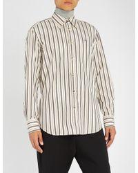Vivienne Westwood - Vw Shirt Regimental Stripe - Lyst