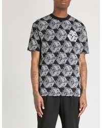 McQ - Reflective Logo-print Cotton-jersey T-shirt - Lyst