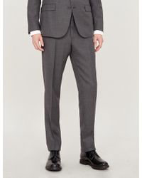 Polo Ralph Lauren Regular-fit Tapered Mid-rise Wool Trousers