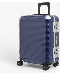 Fpm Fabbrica Pelletterie Milano Bank Light Spinner 55 Suitcase - Blue