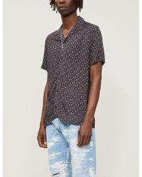 e3bc396b0 Schott Nyc - Shrivera Skull-print Woven Shirt - Lyst