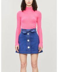 Paper London Wallace Denim Skirt - Multicolor